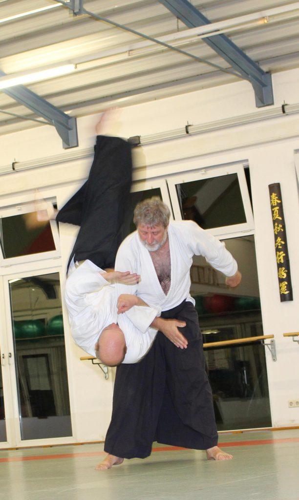 Aikido-Sensei Jo Schober